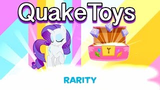 getlinkyoutube.com-My Little Pony Friendship Celebration App Game NEW CHARACTERS Scans MLP Rarity's Booktique Playset