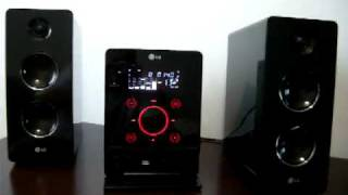 getlinkyoutube.com-Mini HI-FI System LG FA162Z