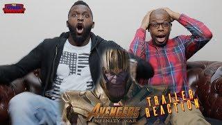 Avengers: Infinity War Trailer #2 Trailer Reaction