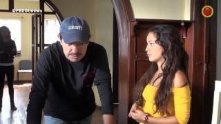 """getlinkyoutube.com-Detrás de cámaras de """"Lady, la vendedora de rosas"""" con Natalia Reyes"""