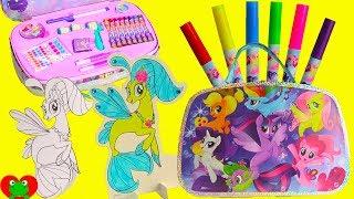 My Little Pony Movie Seapony Art Suitcase