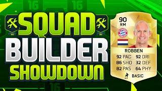 getlinkyoutube.com-FIFA 16 SQUAD BUILDER SHOWDOWN!!! ARJEN ROBBEN!!! 90 Rated Robben Squad Builder Duel