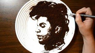 getlinkyoutube.com-Drawing Prince with Coffee