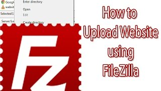 getlinkyoutube.com-How to upload Website to online Server Using Filezilla (English).