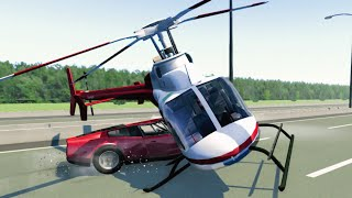 getlinkyoutube.com-BeamNG Drive Helicopter Crashes Compilation 1440p 60 fps