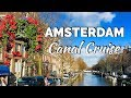 AMSTERDAM CANAL CRUISE 2019