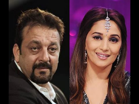 Sanjay Dutt & Madhuri Dixit's Hot Yesteryear Romance in Pictures