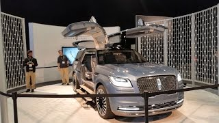 Hands on Exclusive Lincoln Navigator Concept