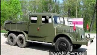 getlinkyoutube.com-Těžký tahač přívěsů Tatra 141