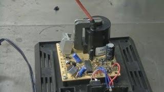 getlinkyoutube.com-Video Re: Plasma Globe Flyback Transformer Output
