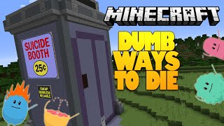 getlinkyoutube.com-Minecraft | Dumb Ways To Die In Minecraft! | SUICIDE BOOTH (Minecraft Redstone)