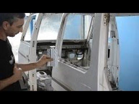 Реставрация кузова Subaru Libero 2