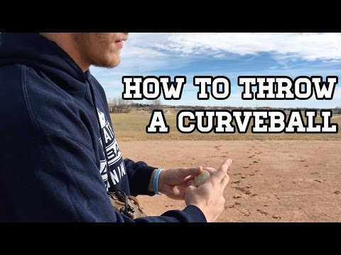Baseball Pitching Grips - How to Throw a Curveball