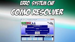 getlinkyoutube.com-USB UTIL Erro System CNF - Como Resolver