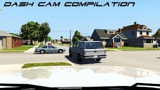 getlinkyoutube.com-ULTIMATE Beamng Drive Dash Cam Compilation, Realistic Crashes #2