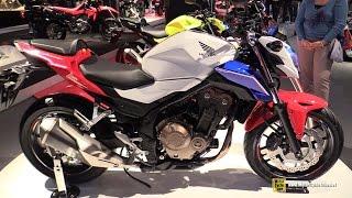 2016 Honda CB500F - Walkaround - 2015 EICMA Milan