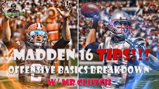 getlinkyoutube.com-Madden 16 | Madden Fundamentals | Offensive Breakdown