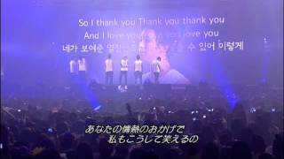 getlinkyoutube.com-2PM 1ST CONCERT IN SEOUL DVD - HOTTEST singing 'Thank You' for 2PM