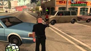 GTA SA Cleo: Police Chase Mod