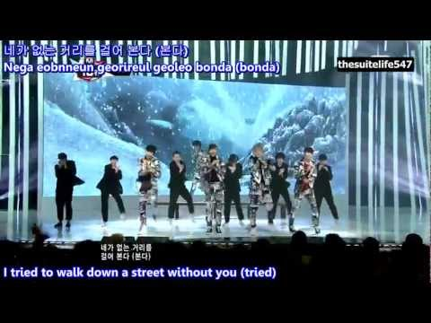 B1A4 - Tried to Walk [M!Countdown] (12.12.13) {Hangul, Romanization, Eng Sub, Fanchants}