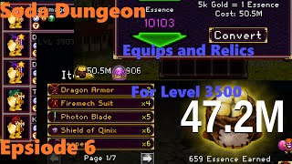 getlinkyoutube.com-Soda Dungeon - Equips and Relics to Beat Level 3500 - #6