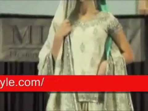 Pakistani Designer Dresses Fashion show By The Trendy Style Dress shop.wmv