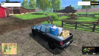 getlinkyoutube.com-S1 Ep1 Farming Simulator 15: Mods Show:  Pickups