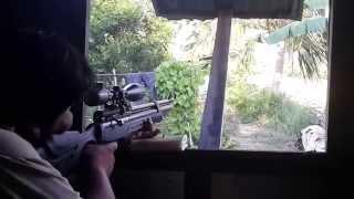 getlinkyoutube.com-ปืนล่าสัตว์ PCP Gun อัดลมเบอร์ 2 FPS1200