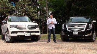 getlinkyoutube.com-Lincoln Navigator 2015 y Cadillac Escalade 2015, una comparativa de SUVs de lujo