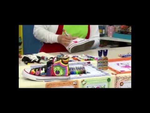 Acrilex - Artesanato - Customização com Acrilpen