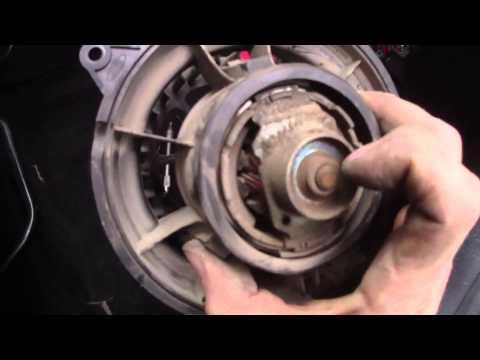 Снимаем и разбираем вентилятор печки Ford Fusion