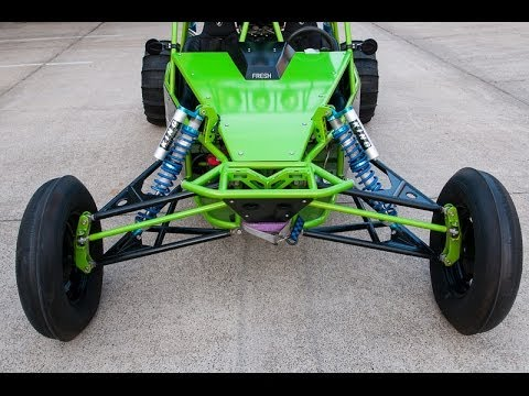 BUSA  LONG TRAVEL DUNE BUGGY SAND RAIL with MOTORCYCLE ENGINE
