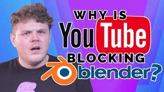 Why is YouTube BLOCKiNG Blender?!? | The Linux Gamer