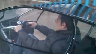 getlinkyoutube.com-Electric assisted street legal two-seater cabin bicycle (trike)