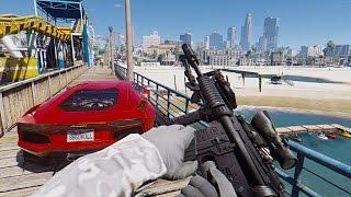 GTA 5 Mods - REAL LIFE GRAPHICS MOD #2! GTA 5 Real Life Graphics Mod Gameplay! (GTA 5 Mods Gameplay)