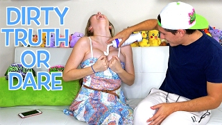 getlinkyoutube.com-DIRTY TRUTH OR DARE CHALLENGE!