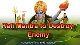 getlinkyoutube.com-Extremely Powerful Kali Mantra To Destroy Enemy