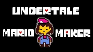 UNDERTALE Recreated as a Mario Maker Level (Multiple Endings)