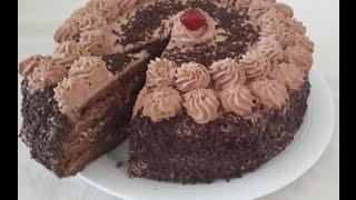 Recette de Genoise au Chocolat/Chocolate Genoise Recipe/طريقة تحضير جينواز الشكولاطة