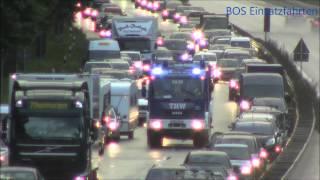 getlinkyoutube.com-Verkehrsunfall auf der A23 - Vollsperrung durch THW 2.0