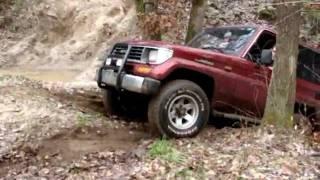getlinkyoutube.com-Nissan Patrol & Toyota Land Cruiser offroad