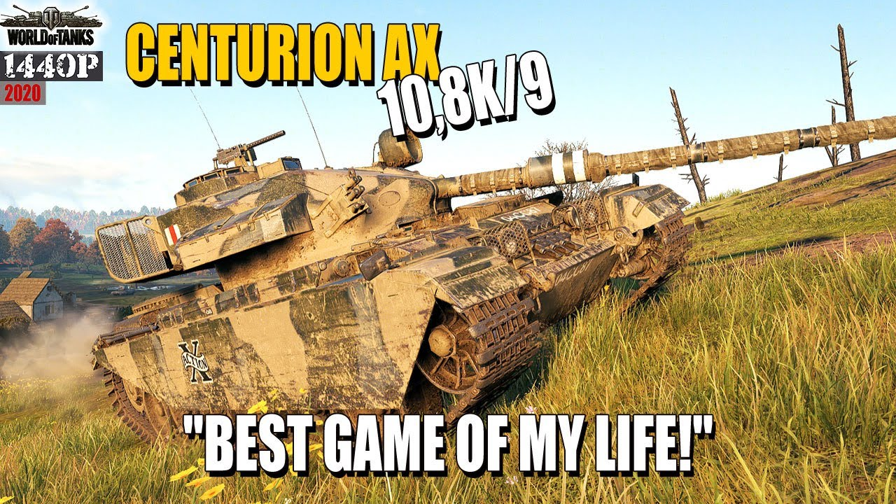 """Centurion AX: """"Best game of my life!"""" WoT"""