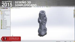 getlinkyoutube.com-SolidWorks 2015 - Brazo Loco Parte 1
