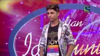 getlinkyoutube.com-Amazing Rapper  : Indian Idol Junior 2015 Sunil Bishnoi; the Rajasthani rapper – Kolkotta Auditions