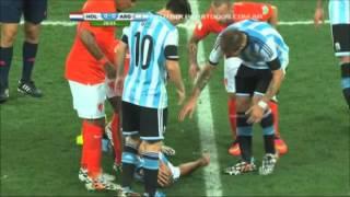 El paso de Argentina por Brasil 2014.