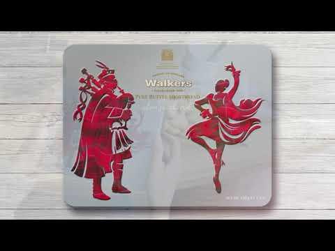 Walkers Piper & Highland Dancer Tin 150g