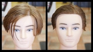 Leonardo DiCaprio Titanic Haircut Tutorial - TheSalonGuy