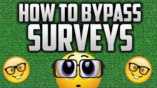 getlinkyoutube.com-HOW TO BYPASS SURVEYS (Working 2016)