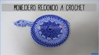 getlinkyoutube.com-MONEDERO REDONDO A CROCHET