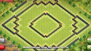 getlinkyoutube.com-Clash Of Clans | TH 10 Farming Base (Dark Elixir Base) - 275 walls